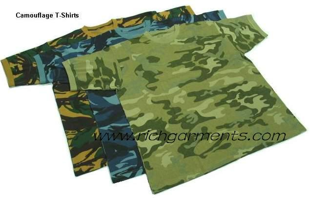 Camouflage t shirt printed as per china manufacturer for Camouflage t shirt printing