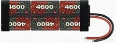 RC Model battery-SC4600mah-7.2VPower battery