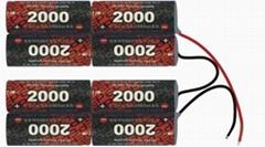 动力电池34A2000mAh
