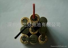 深圳伟之冠镍氢直流电动工具电池SC3000-14.4V
