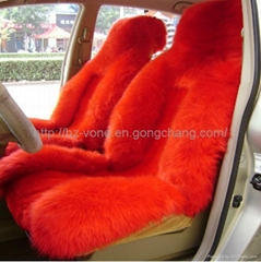 Genuine Sheepskin car seat cover