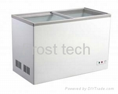 Chest Freezer with Flat Lids