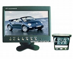 """7"""" CCTV Rear-View System with Bakup Heavy Duty Camera"""
