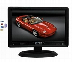 "7"" Touch Button Car TV with USB, SD Reading Function"