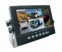 7 inch Digital Reverse Quad Monitor
