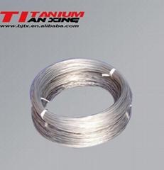 Coiled Titanium Wire