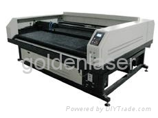 Special laser cutting machine for toy fabrics