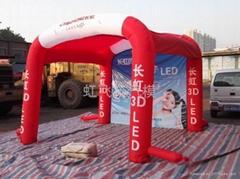 3.5米*3.5*充气帐篷