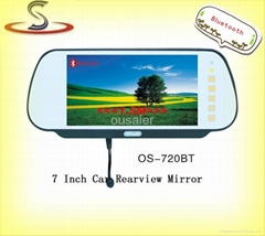 "7"" rearview mirror monitor"