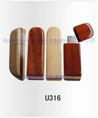 DIY wooden USB Flash disk in 2 colors