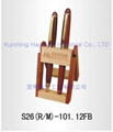 factory outlet wooden pen stand  wholesale