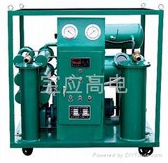 多功能變壓器油濾油機器