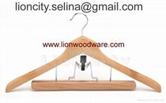 wooden hanger LEC-TY3074
