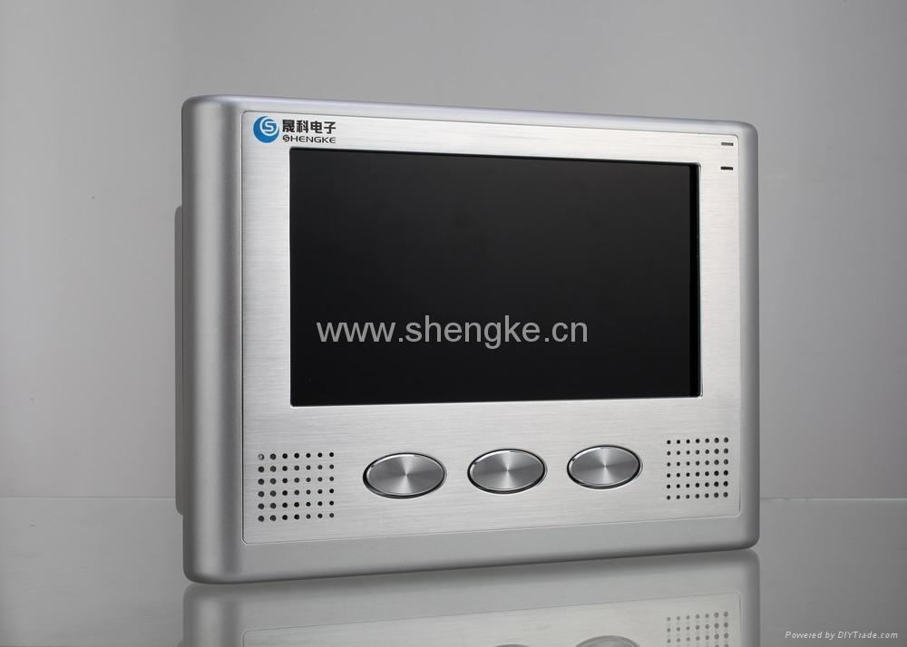 智能楼宇对讲分机SK999CF26   1