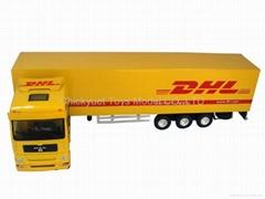 1:50 metal truck model