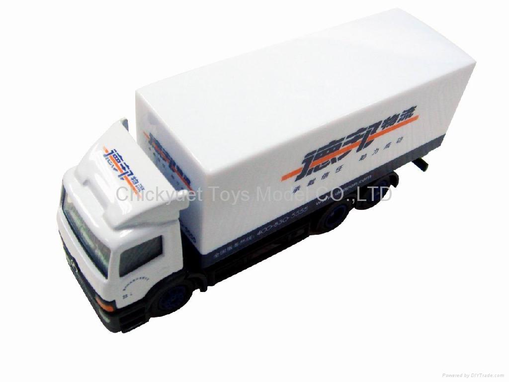 1:87 die cast model truck 1