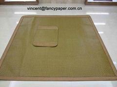 paper straw mat