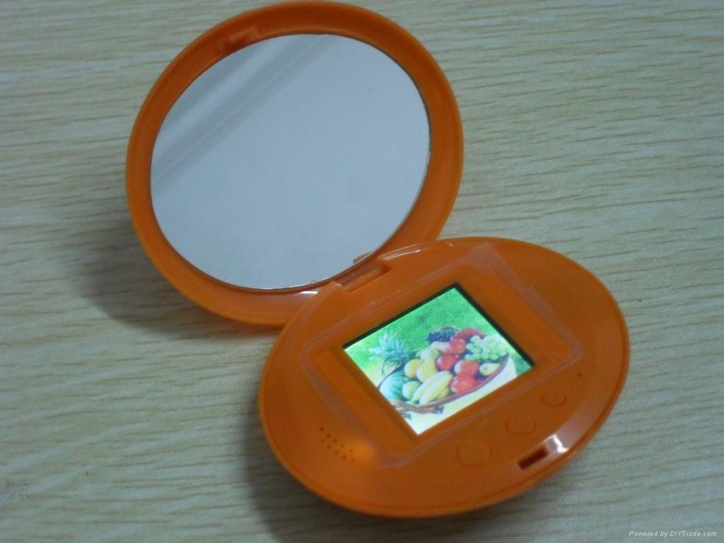 私模产品 镜子相框  1.8寸数码相框 1