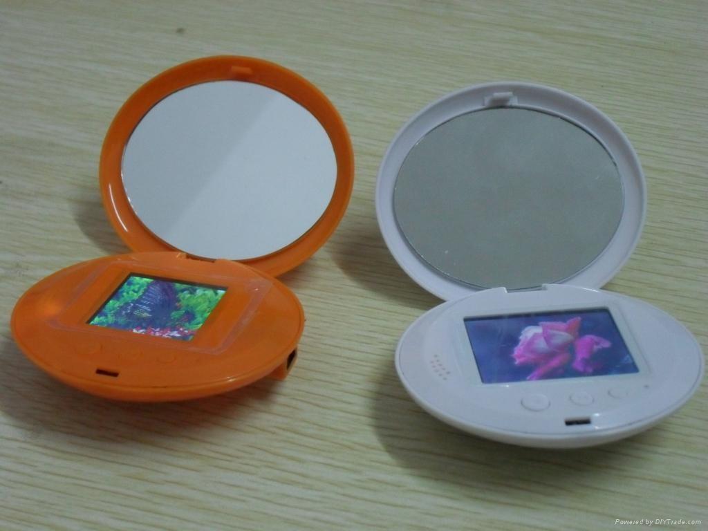 私模产品 镜子相框  1.8寸数码相框 2
