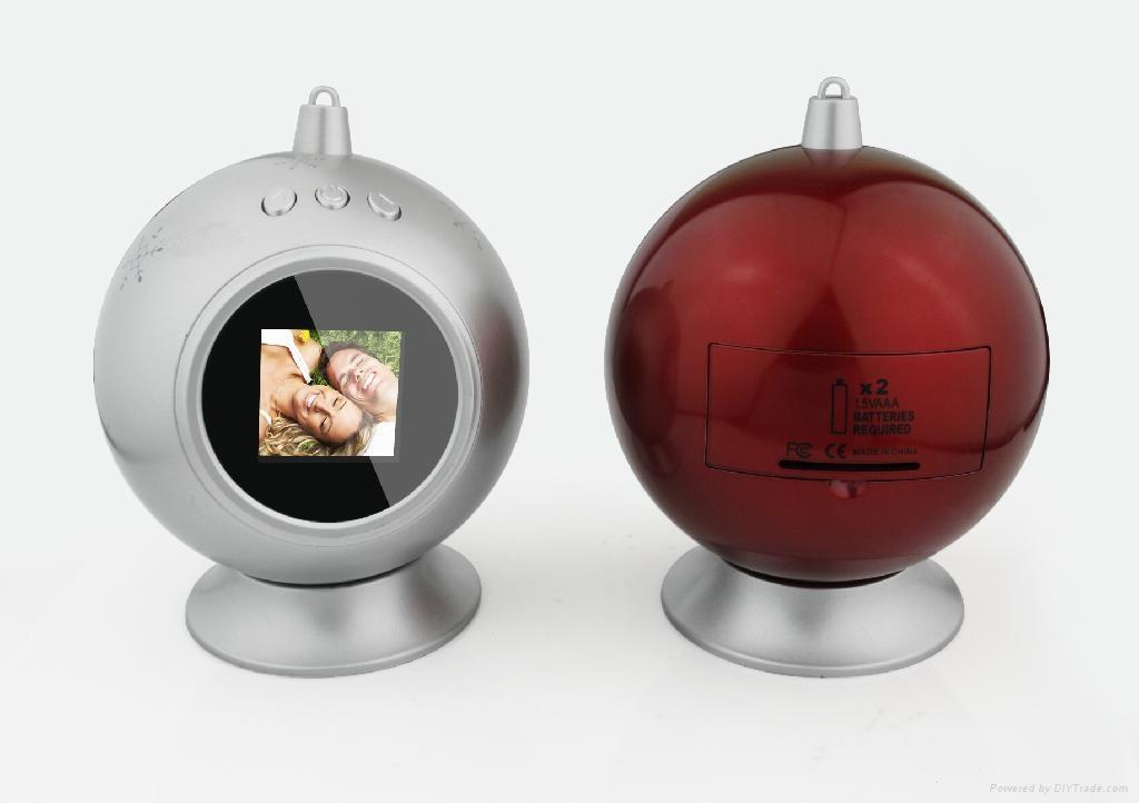 圣诞球数码相框 3