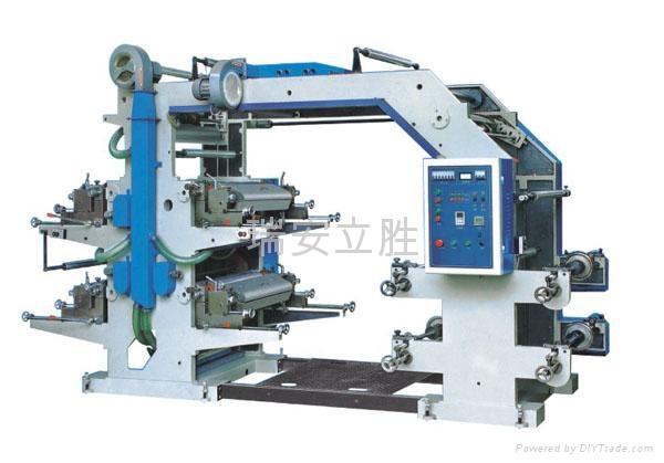 四色柔性凸版印刷机 1
