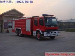 五十鈴水罐消防車