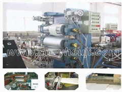 PVC decorative Siding production line