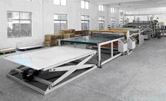 PVC panel extrusion line