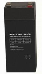探照燈專用電池HY-4V3.0AH(A)