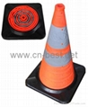 Traffic cone(rubber base) 1