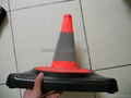 Traffic cone(rubber base) 4