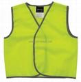 Safety vest AS/NZS 4602 1999