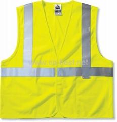 Fire resistant safety vest