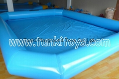 Inflatable Pool Swimming