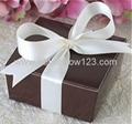 big glossy satin ribbon bow usd for gift
