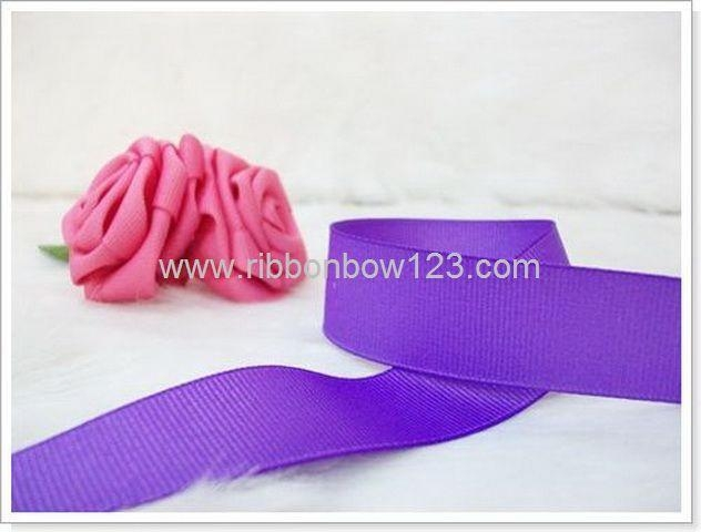 purple grosgrain ribbon for wedding decoration 1