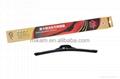 Frameless flat wiper blade