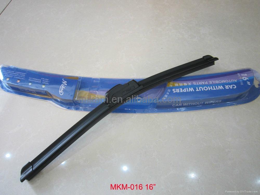 frameless flat soft car wiper blade 1
