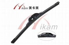 Car flat wiper blade