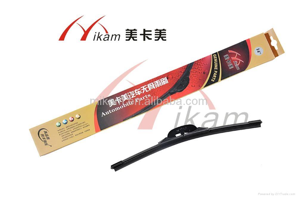 Car flat wiper blade 4