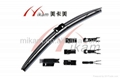 Multifunctional sopft car wiper blade