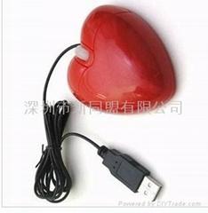 心型礼品鼠标