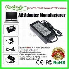 AC adapter Power supply for LCD monitor or TV 12V 5A