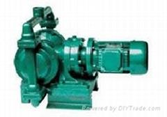 DBY系列電動隔膜泵擺線減速機式