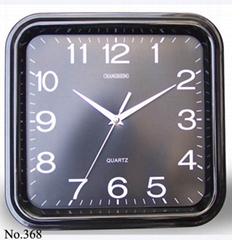 Square Quartz Wall clock
