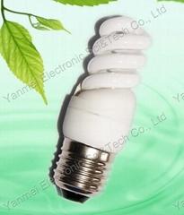 3/5W T2 Mini Full Spiral Energy Saving Lamp