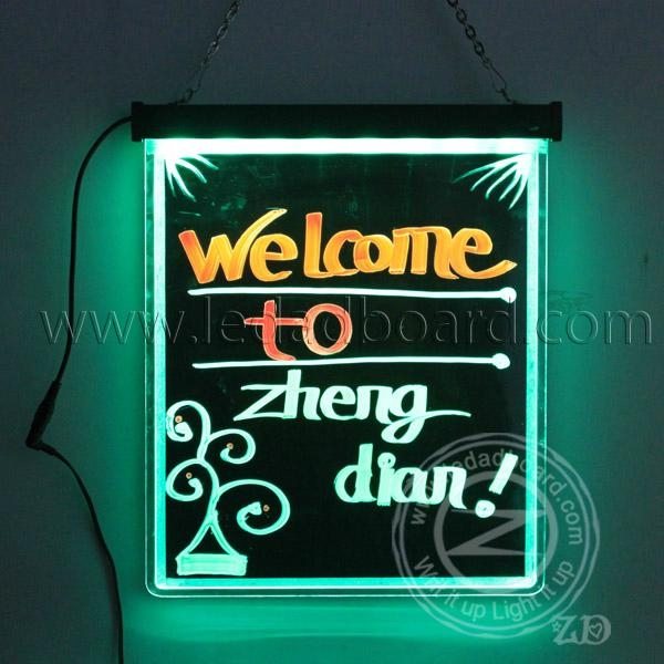2012 new led writing board with remote control 1