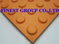 Rubber Tactile Tiles
