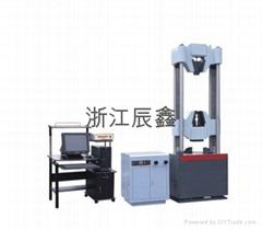 GWE-Series of computer controlled electro-hydraulic servo strand testing machine