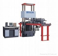 YAW micro-computer control electro-hydraulic servo pressing & shearing tester